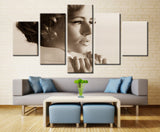 Movie heroine - 5 piece Canvas - EpicKanvas