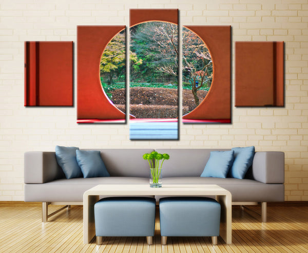 Natural forest - 5 piece Canvas - EpicKanvas