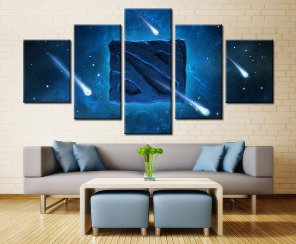 Shooting Stars - 5 piece Canvas