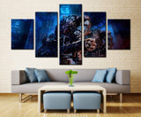 Game heros - 5 piece Canvas