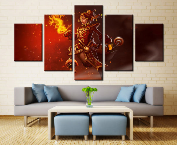 Game heroin - 5 piece Canvas - EpicKanvas
