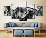 Man in space planet - 5 piece Canvas