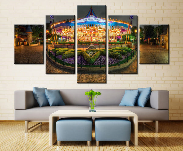 Exhibition at a Park - 5 piece Canvas