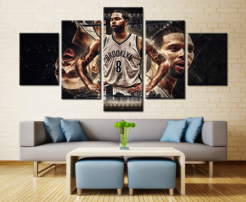Deron Williams Cleveland Nets - 5 piece Canvas - EpicKanvas