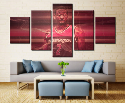 Sports player - 5 piece Canvas