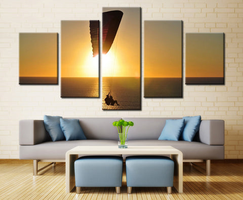 Natural Sea - 5 piece Canvas