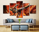 Game heroes - 5 piece Canvas