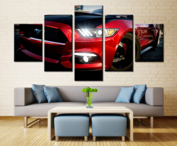 Super Car - 5 piece Canvas