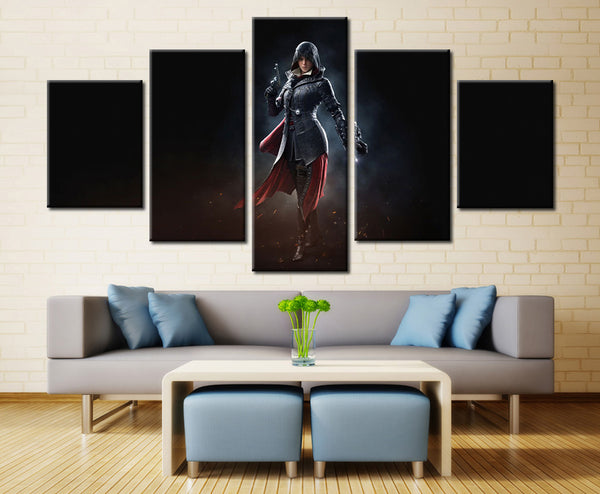 Game heroine - 5 piece Canvas - EpicKanvas