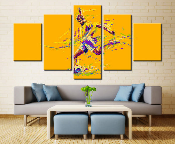 Man Painting - 5 piece Canvas