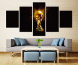Football World Cup  - 5 piece Canvas