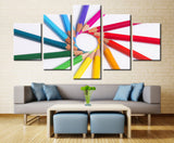 Pencil art - 5 piece Canvas - EpicKanvas