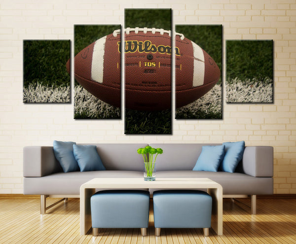 American Football  - 5 piece Canvas