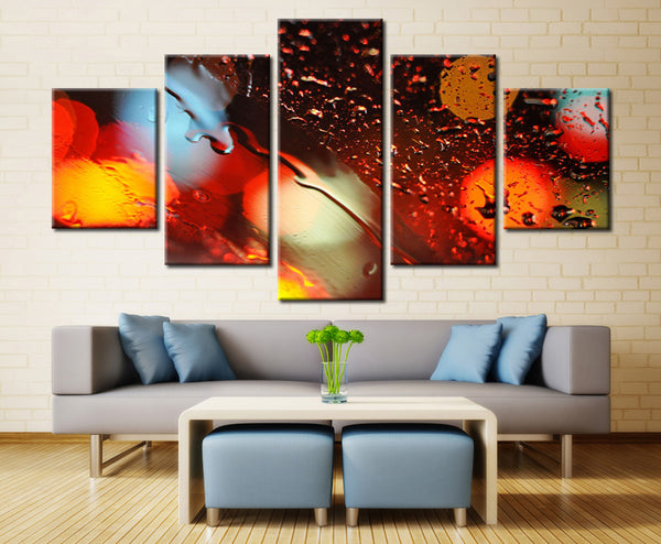 Colorful Art - 5 piece Canvas