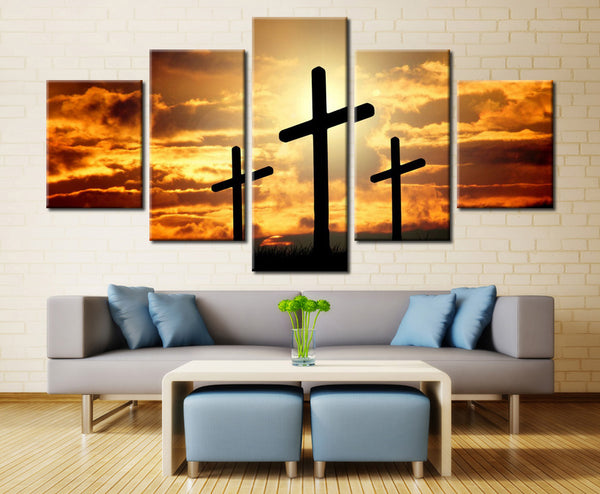 Natural sky and Land - 5 piece Canvas - EpicKanvas
