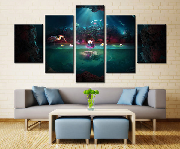Beautiful baby - 5 piece Canvas