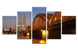 Cologne Cathedral, Germany - 5 piece Canvas