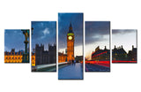 Palace of Westminster - 5 piece Canvas - EpicKanvas