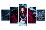 Game heroine - 5 piece Canvas