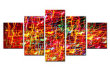 Lighting art - 5 piece Canvas - EpicKanvas