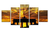 Natural sky - 5 piece Canvas - EpicKanvas