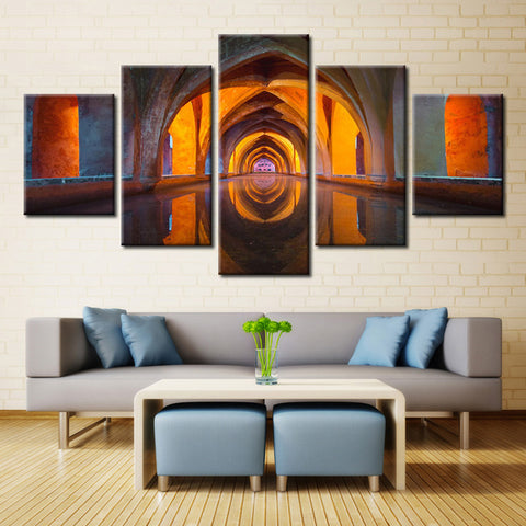 tower of many colors - 5 piece Canvas - EpicKanvas