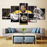 Hockey player - 5 piece Canvas - EpicKanvas