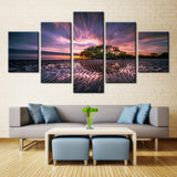 Natural forest - 5 piece Canvas