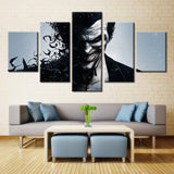 Arkham Origins Joker - 5 piece Canvas