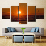 Sun and Water - 5 piece Canvas - EpicKanvas