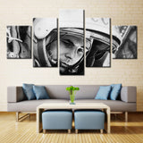 Man in space planet - 5 piece Canvas - EpicKanvas