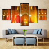 Lighting House  - 5 piece Canvas