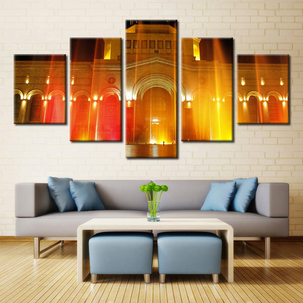 Lighting House  - 5 piece Canvas - EpicKanvas