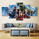 Star War Movie heroes - 5 piece Canvas - EpicKanvas