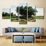 Natural Tree - 5 piece Canvas - EpicKanvas