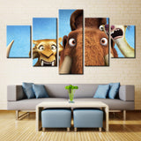 Ice Age Cartoon - 5 piece Canvas