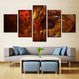 Movie heroes - 5 piece Canvas - EpicKanvas