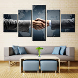 Hand to Hand - 5 piece Canvas