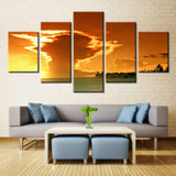 Natural river - 5 piece Canvas - EpicKanvas