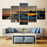 Helicopter  - 5 piece Canvas - EpicKanvas
