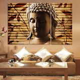 Buddha - 3 piece Canvas