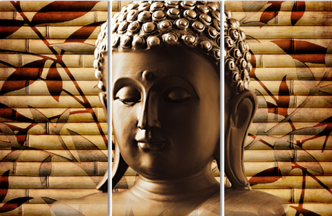 Buddha - 3 piece Canvas - EpicKanvas
