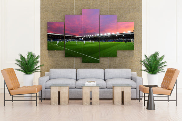 Stadium soccer - 5 piece Canvas