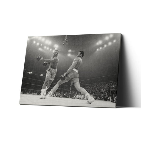 1 Pc Framed Mohammad Ali Legends in Boxing Wall Art Home Decor - EpicKanvas