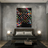 1 Piece Framed Canvas Louis Vuitton (LV) Success Dreams Artwork For Home & Office Decor - EpicKanvas