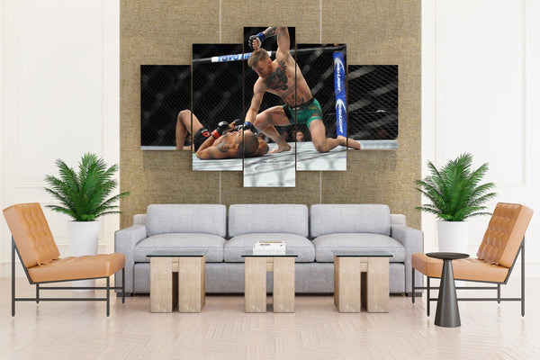 UFC Fight - 5 piece Canvas