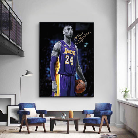 Kobe Bryant Signature Artwork - EpicKanvas