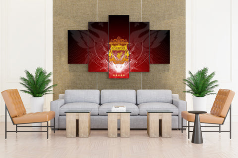 Liverpool Fottball Club HD - 5 piece Canvas