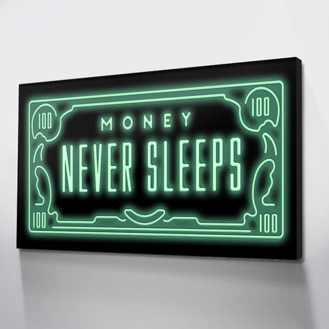 1Pc Money Wall Art Dollar Law of Attraction Canvas For Home & Office Decor - EpicKanvas