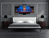 5 piece Canvas Artwork of FIFA World Cup Russia